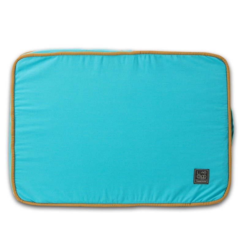 Lifeapp sleeping pad replacement cloth S_W65xD45xH5cm (blue) does not contain sleeping mats