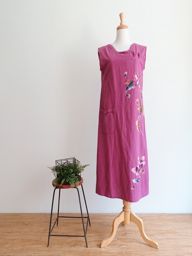 Vintage cheongsam / improved no.16