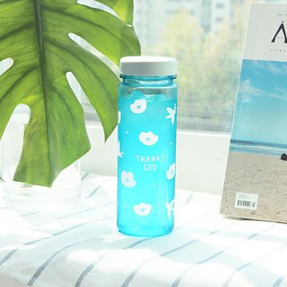 啰 Jenny 500ml Ecozen Green Water Bottle 02. Pink Blue