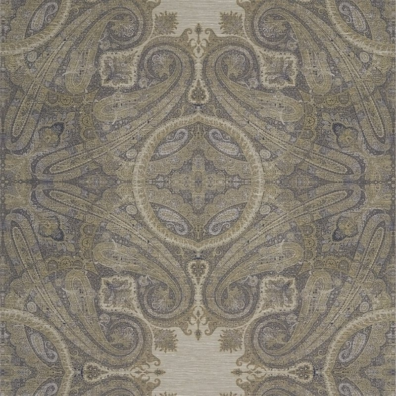 Zoffany_ Kempshott Wallcoverings_Elswick Paisley 埃爾斯威克