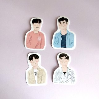 The Boys Sticker / 4 pieces