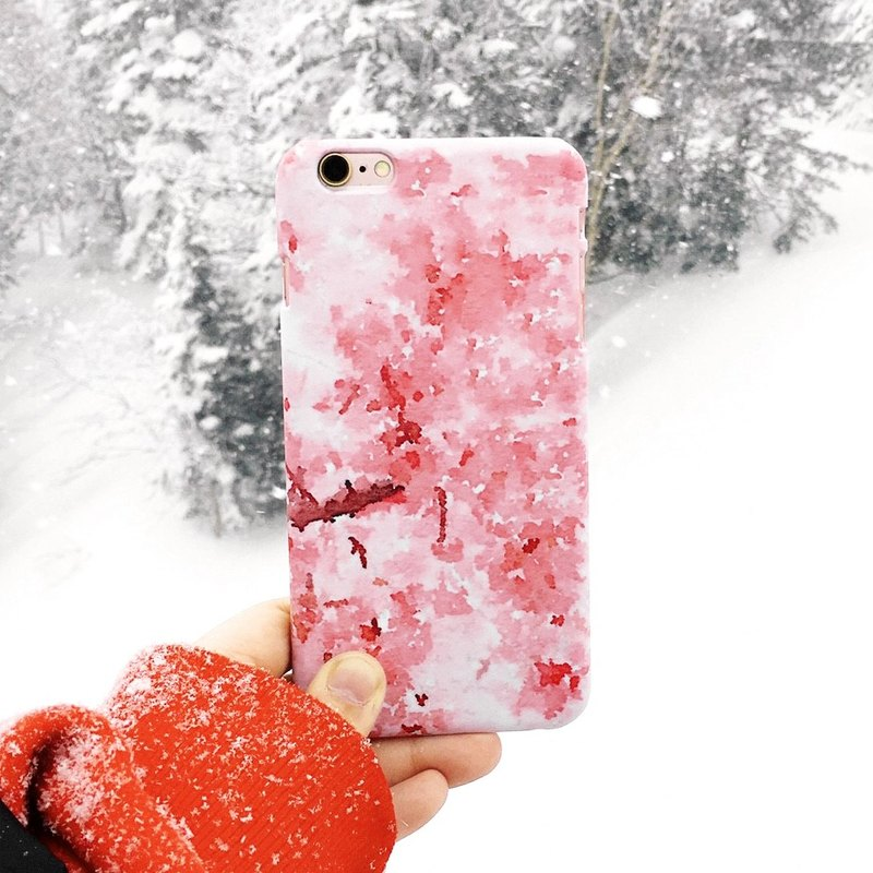 Four Seasons Landscape Series - Spring‧ Pink Sakura (iPhone.Samsung Samsung, HTC, Sony. Asus Case Cover)