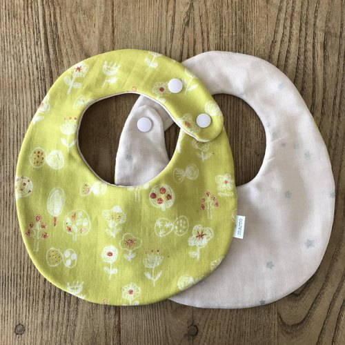 tout rond / reversible sty (small flowers - yellow)