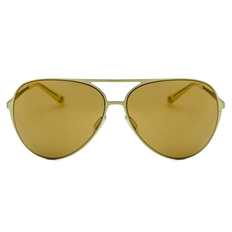 Sunglasses | Sunglasses | Classic Yellow Pilot | Made in Taiwan | Metal Framed Glasses