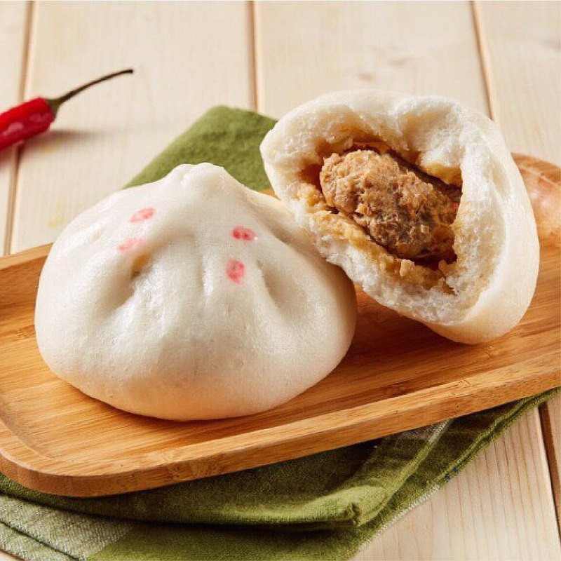 Spicy Fresh Meat Bun (5pcs)