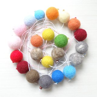 Wool ball  Bookmark-Wool felt