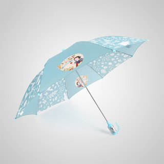 [Germany kobold] Disney official authorization - children's rain and rain dual-use umbrella cylinder handle - Snow White