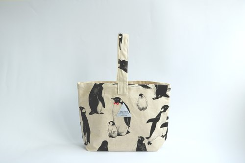 Mary Wil Stylish Handbag - White Penguin