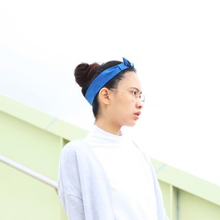【The MAMA's Closet】Checked Series (Green) / Classic Headband