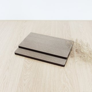 [Ange home] grab the falling sand pad (environmental replacement kit 2 pieces) | Walnut