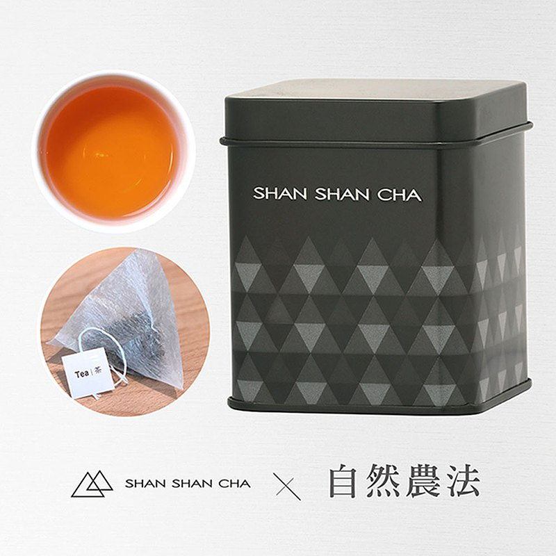 [Shan Shan Lai Tea] Natural Farming Method Sun Moon Lake Assam Tea (3gx5)