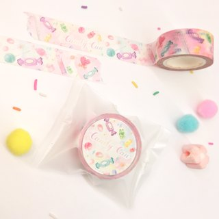 ⋄ candy jar ⋄ original illustration and paper tape /