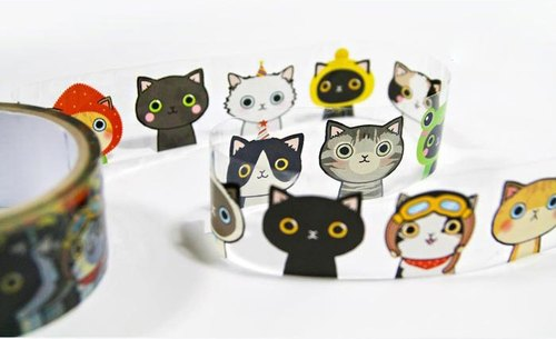 & Cabinet Decorative Tape - Ten Cat Big