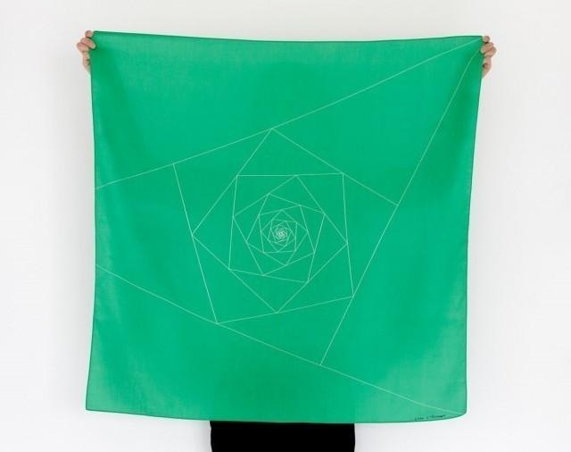 Triangles Furoshiki Scarf