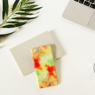 [Order Production] iPhone / Android Case | Yellow fog and orange sky's smart case