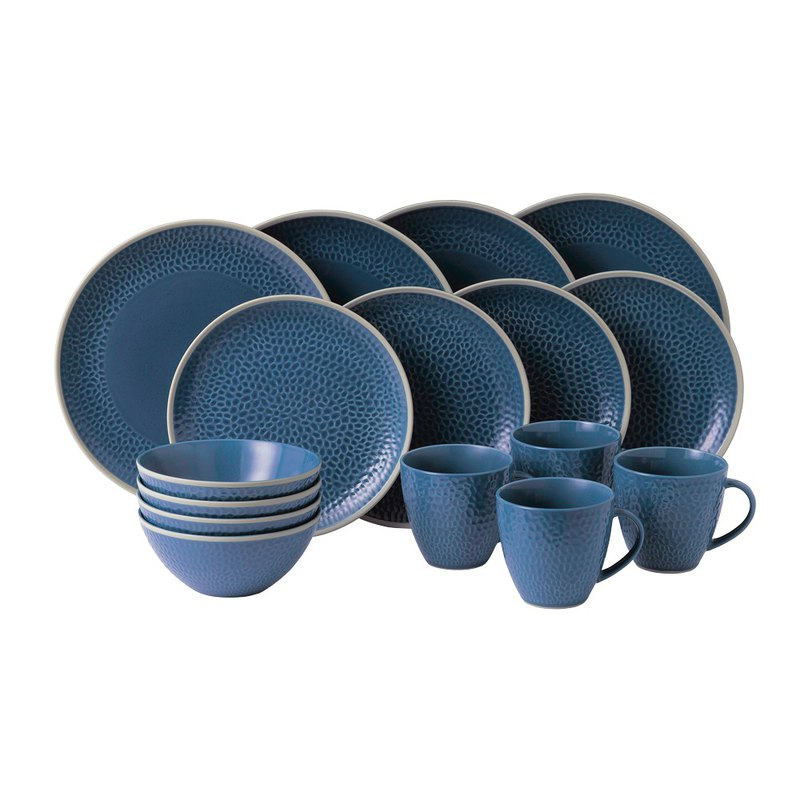 Royal Dalton Maze Grill Gordan Ramsay Chef's Joint Party Sharing 16 Pieces (Blue)