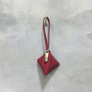 Mini Chiffon bag 【Red】
