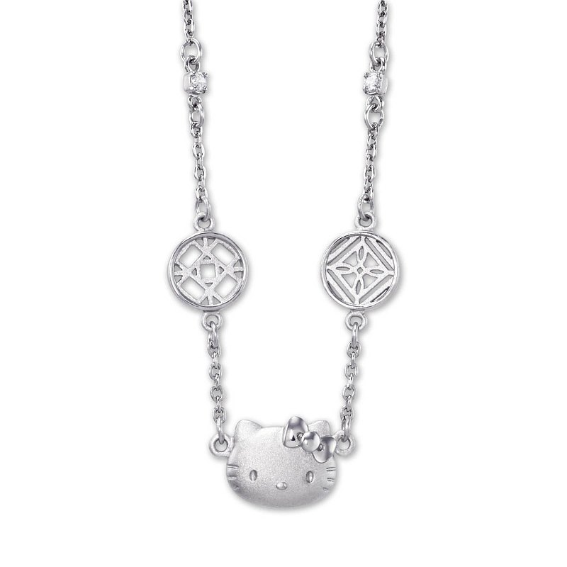 Hello Kitty Wanders the National Palace Museum NCV-288 Silver Necklace