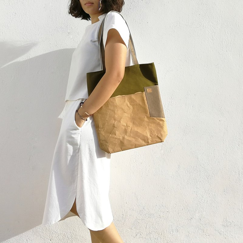 Paper X Canvas Tote Bag
