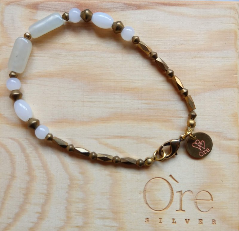 Oˋre Silver bracelet series steel rope bracelet and Tianyu brass paragraph 15 with designer exclusive wooden box