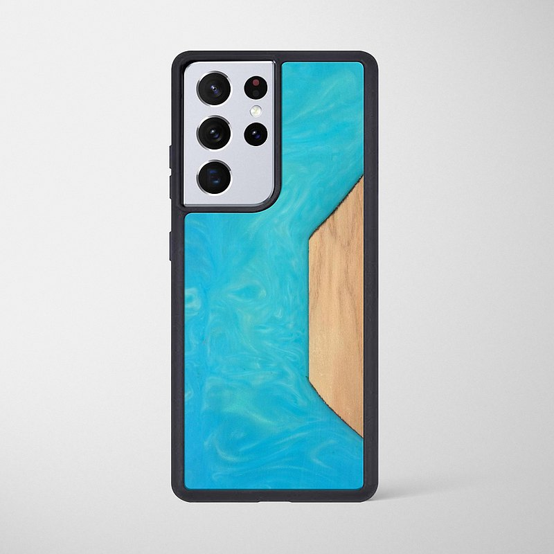 Samsung epoxy wooden resin phone case  - Dream