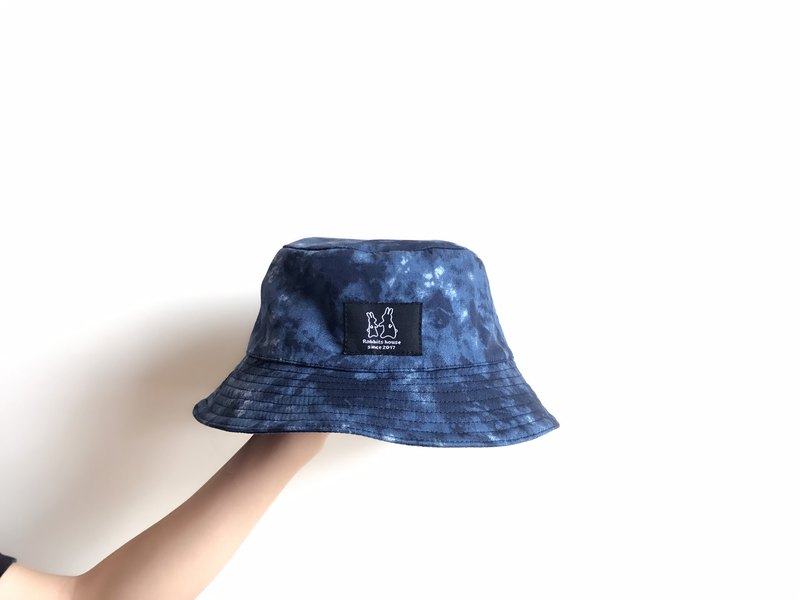 Rendering blue fisherman hat