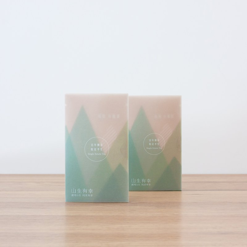 【Single product raw and cooked】Taiwan original leaf loose tea double flavor pack