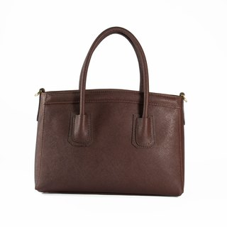 ITA BOTTEGA [Made in Italy] leather portable shoulder double working bag