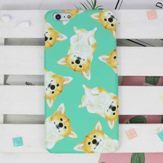 Tricky Watercolor Corgi all over printing Phone case for iPhone 8 X samsung S8