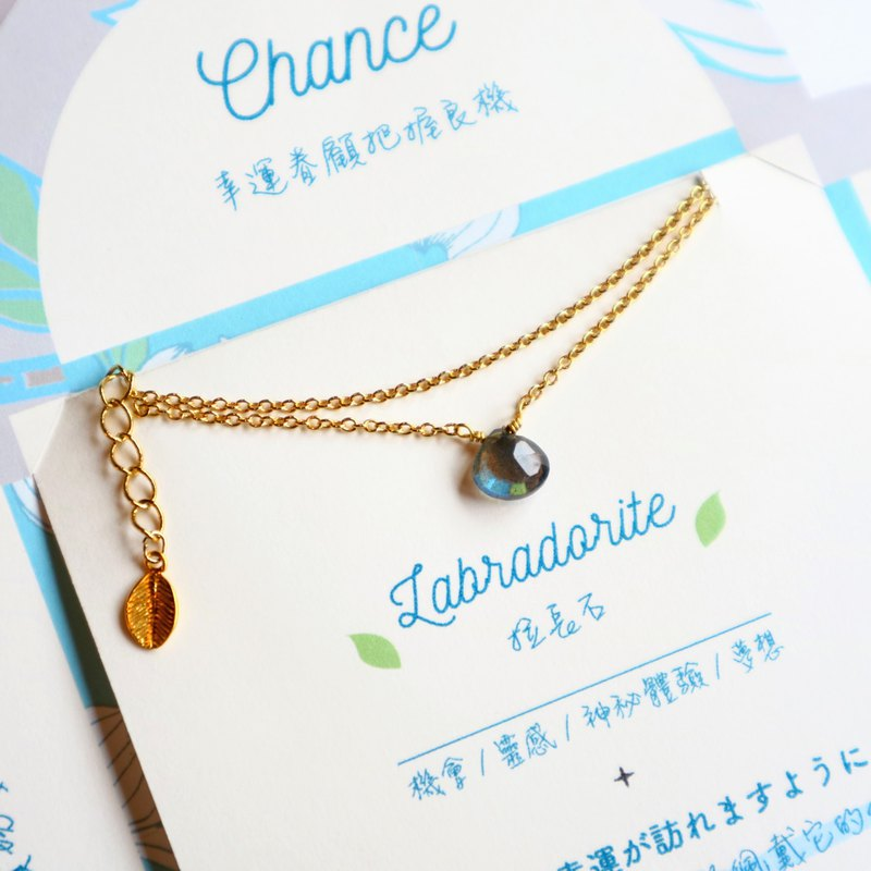 Labradorite necklace | Chance