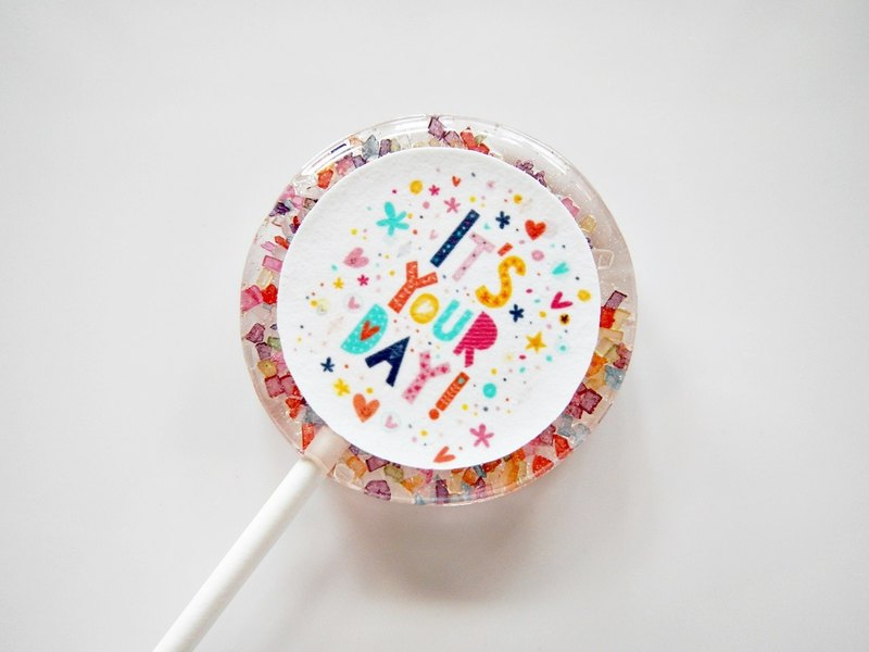 Flower Lollipop - Birthday Series 1 (5 pcs / box)