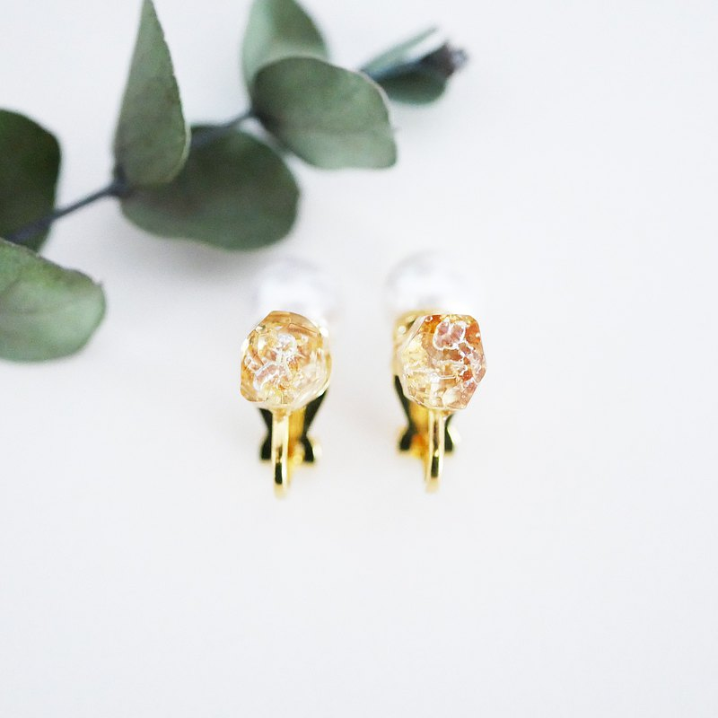 2way Earrings of osmanthus