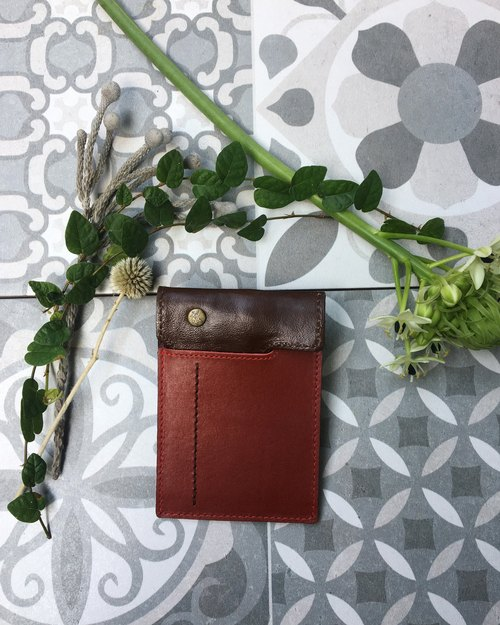 Staff handmade - handmade leather business card holder (7)