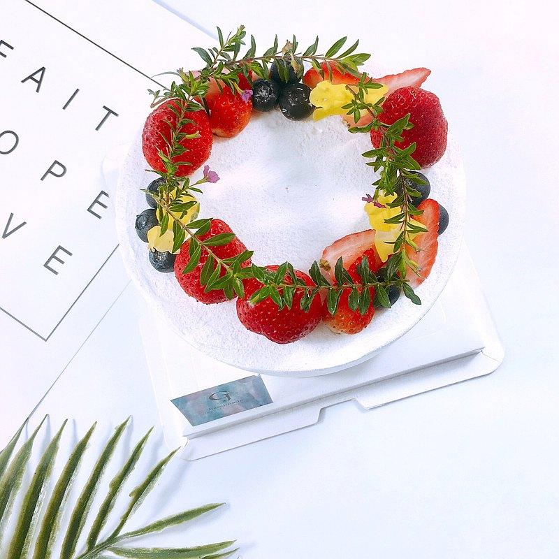 與你共度莓好時光生日蛋糕 客製蛋糕 季節限定4 6 8吋 宅配