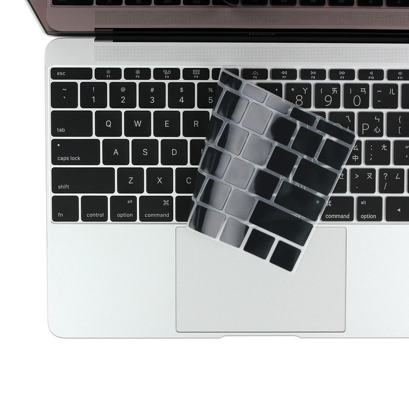 BF MacBook Pro 13 keyboard membrane (no TouchBar - black background white 8807462592449