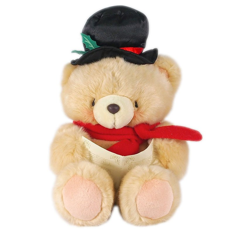 8吋Happy Poetry Plush Bear [Hallmark-ForeverFriends Christmas Series]