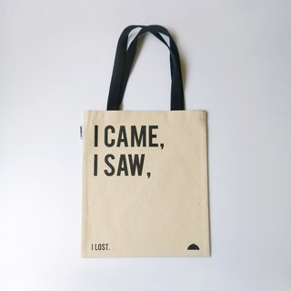 When Ken X is extremely versatile, the number one hand canvas bag I Came, I Saw paragraph