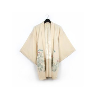 Back to Green-Japan brought back Yuki Riverside embroidery/vintage kimono