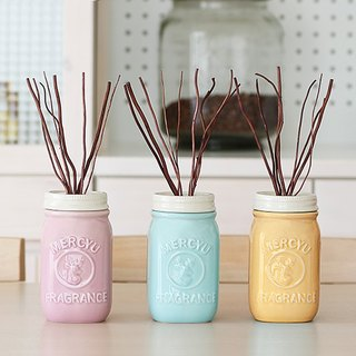 Mercyu deer fondue ceramic pots reed fragrant