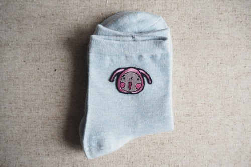 【HeiyinHOHO HoHo and LamHo】Embroidered Socks