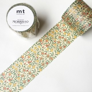 mt and paper tape x William Morris 【Fruit (MTWILL04)】 2016Summer