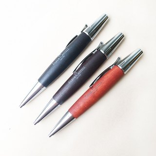 Faber-Castell E-MOTION Faber-faced pear wood rotary ball pen | German ball pen
