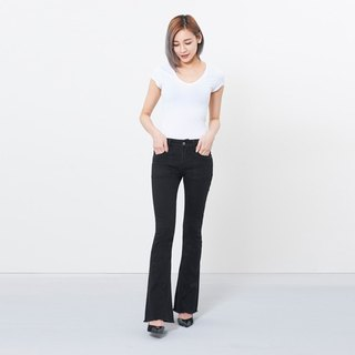 wbp-040-1 black stretch waist waist pants