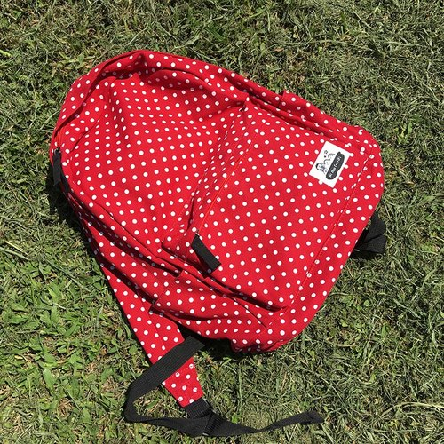 FIFI travels backpack (red)