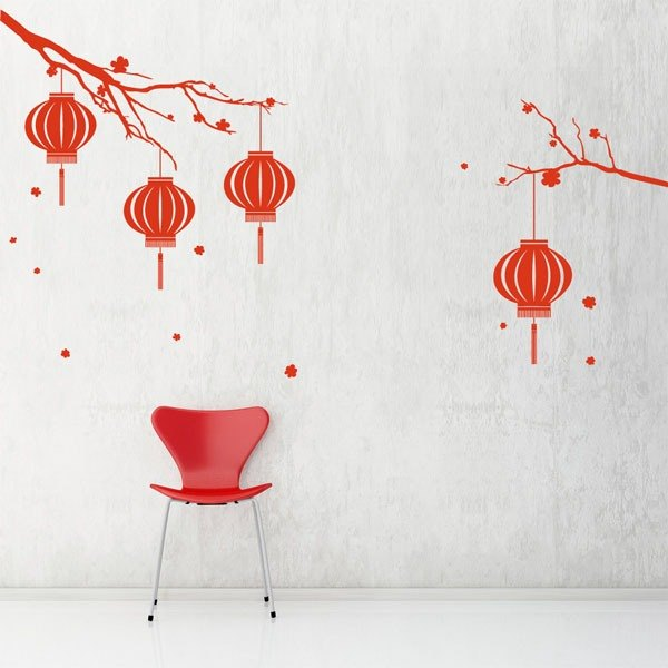 Smart Design Creative wall stickers Incognito ◆ Lantern (8 colors)