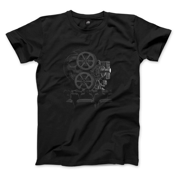 Black Projector - Black - Neutral T-shirt