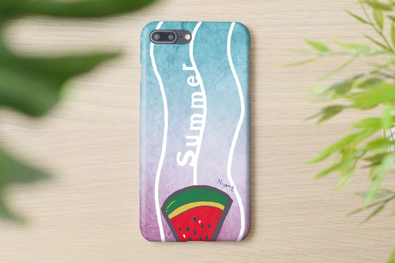 60-1 red watermelon iphone case for iphone 6,7,8, plus iphone xs, iphone xs max