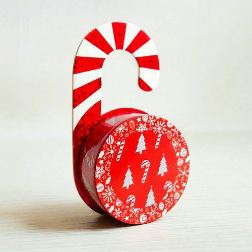 [Hoppy] Christmas paper tape X'mas-S Tree / GTIN: 4713077971826