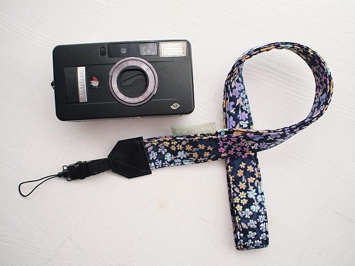 Hairmo dark blue garden single hole camera belt / credential belt / mobile phone (single hole)