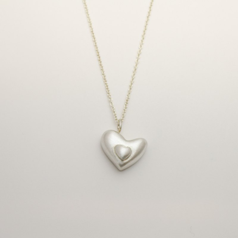 Heart Chocolate Necklace